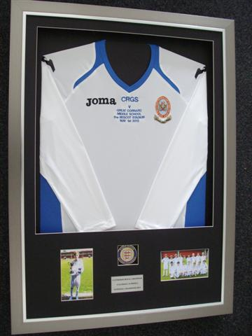 How We Frame Your Shirt - Discount Football Shirt Framing (North West)