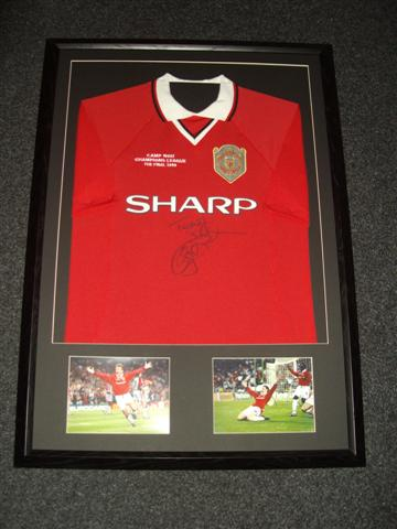 How we frame your shirt discount football shirt framing north west framing solutioingenieria Choice Image
