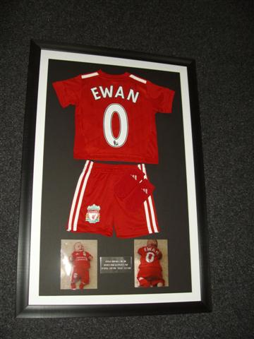 discount football shirt framing