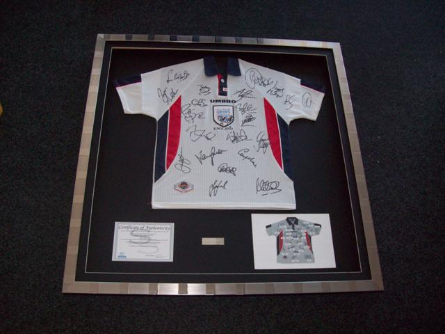 Discount Football Shirt Framing All Offers On One Page