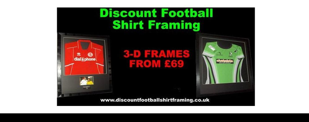 How To Frame A Shirt >> How We Frame Your Shirt Discount Football Shirt Framing North West